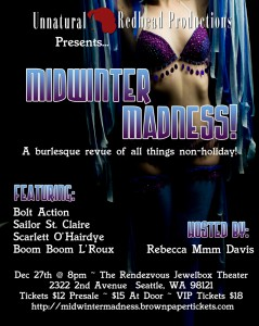 Midwinter Madness Flyer