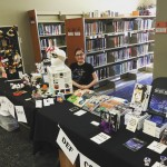 Here we are at Pulicon, a tiny one-day convention held in the Puyallup Public Library!