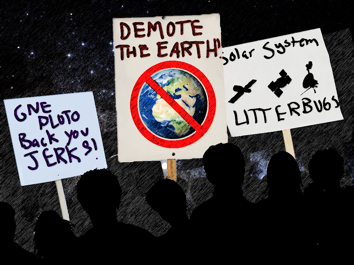 "Art for ""Demote the Earth"""