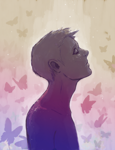 """Art for """"My Fragile Butterfly"""""""