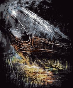 "Art for ""The Curious Fate of the Merchantman Lady Margaret"""