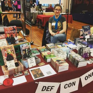 Dawn @ Capital Indie Book Con 2