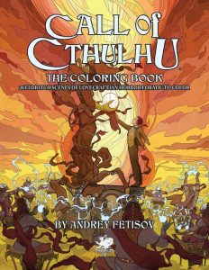 Cover art for Call of Cthulhu: The Coloring Book