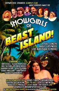 Poster for Showgirls of Beast Island