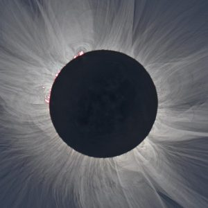2017 solar eclipse from Yellowstone National Park