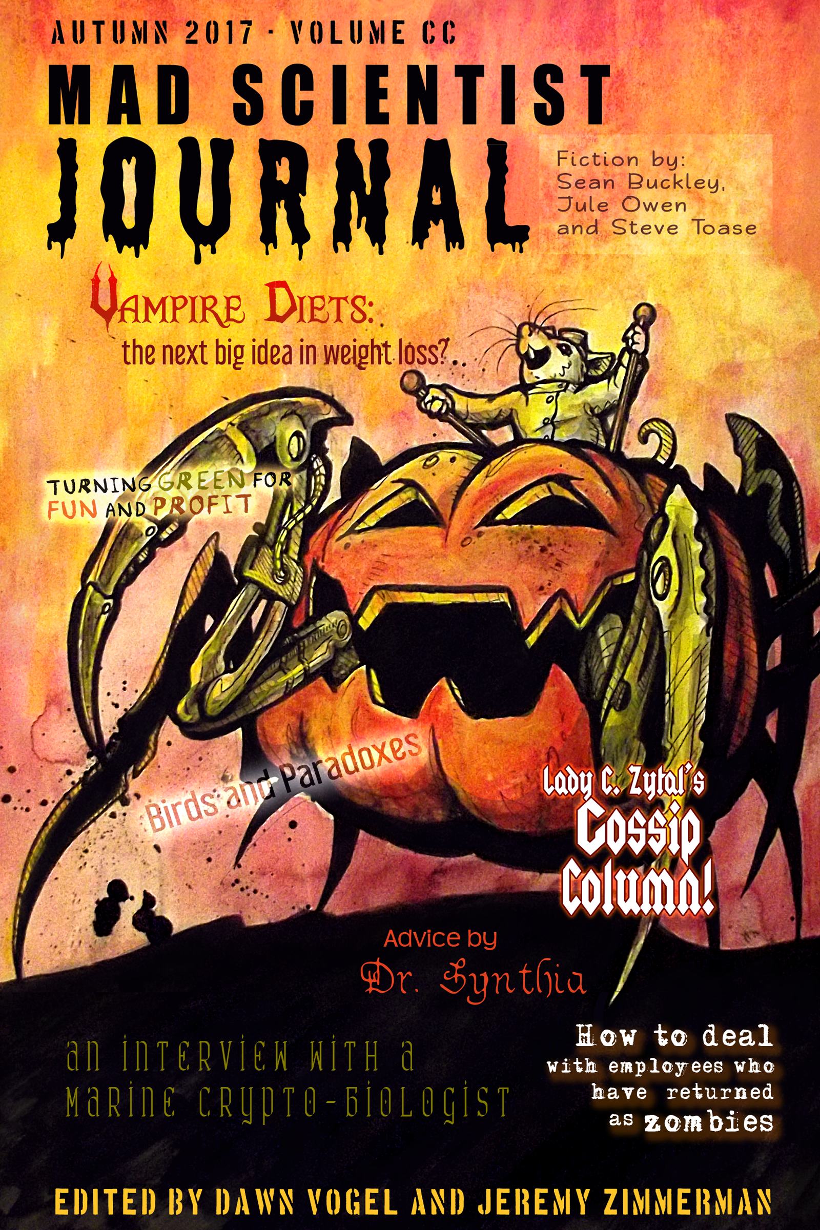 Now available mad scientist journal autumn 2017 mad scientist cover art for mad scientist journal autumn 2017 fandeluxe Gallery