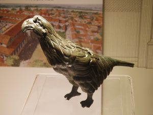 The Silchester eagle of the Roman Ninth Legion