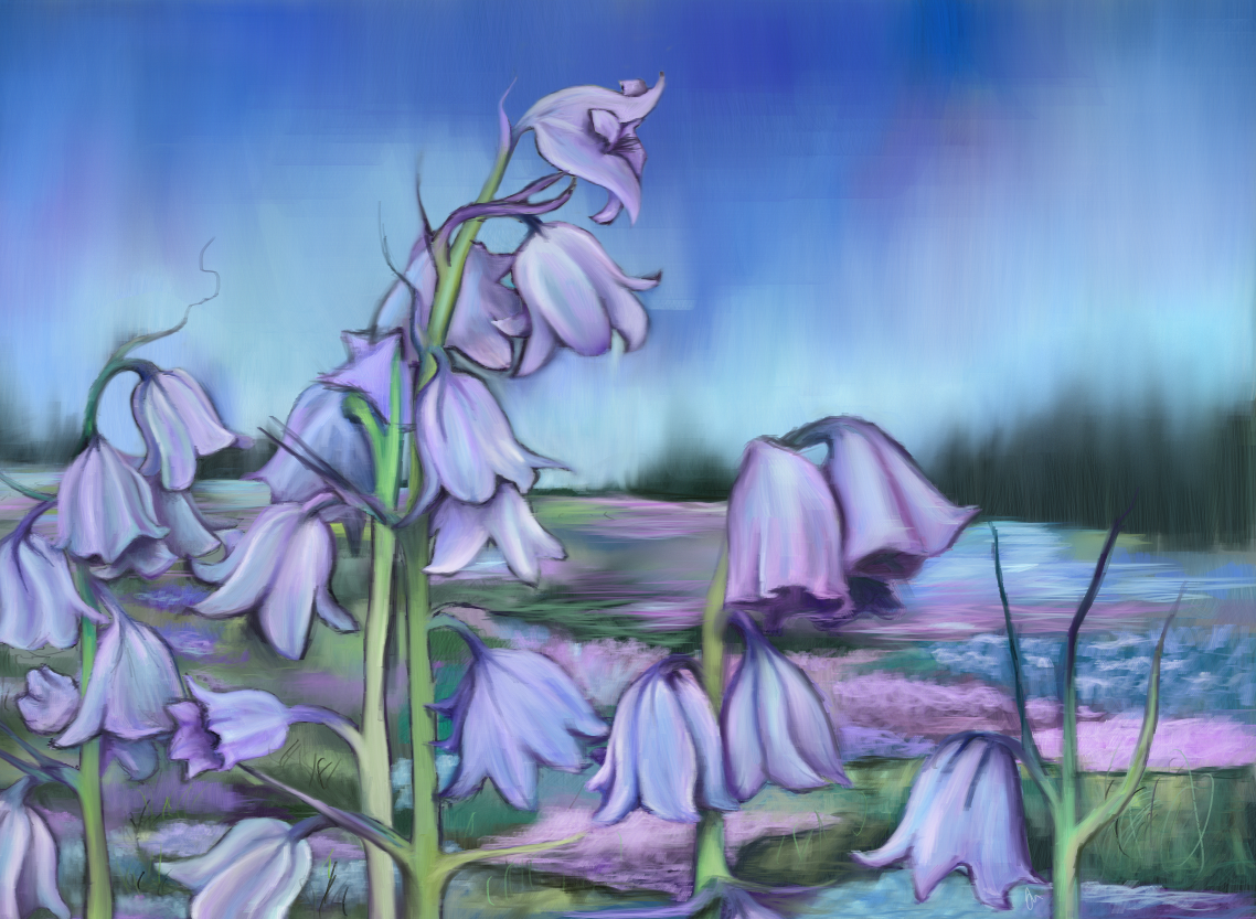 "Art for ""When Bluebells Die"""