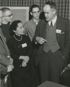 Chien-Shiung Wu and other scientists