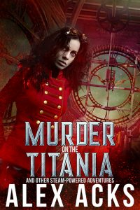 Cover art for Murder on the Titania