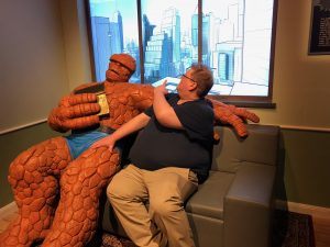 Jeremy with Ben Grimm