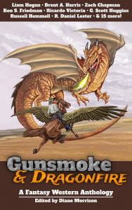 Cover art for Gunsmoke and Dragonfire