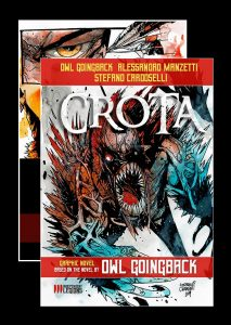 Cover art for Crota graphic novel