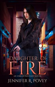 Cover art for Daughter of Fire