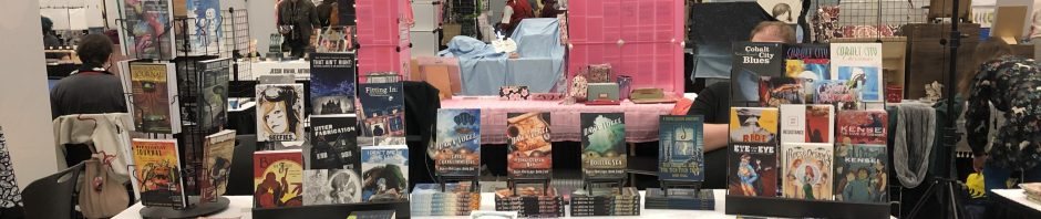 Photo of a table at GeekGirlCon